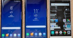 Que vaut le Galaxy S8 face à l'iPhone 7, au LG G6 et au P10 ?