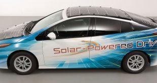Avec sa Prius solaire, Toyota vise l'autonomie infinie